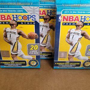 5 NBA Hoops Hangers Unopened Brand NEW for Sale in Stanton, CA