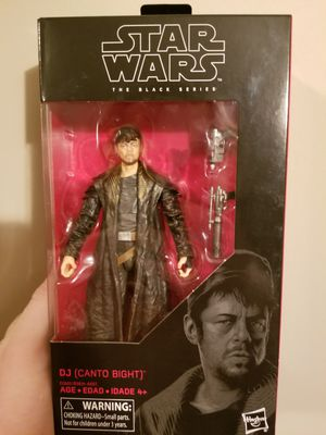 DJ Star Wars the Black Series action figure for Sale in Columbus, OH