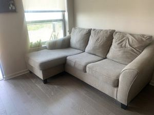 Ashley sofa couch chaise for Sale in Houston, TX