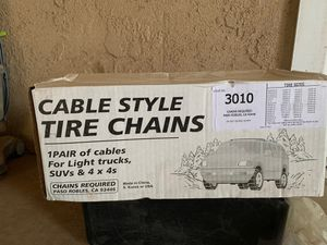 Tire chains for Sale in Clovis, CA