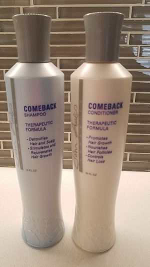 John Amico Comeback Shampoo and Conditioner for Sale in Oak Lawn, IL