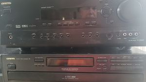 Onkyo and Infinity surround sound system for Sale in Bealeton, VA
