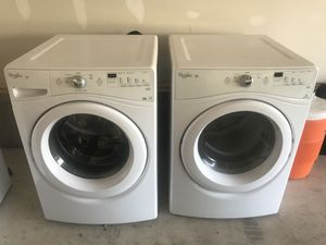 Washing and dryer set ....... (gas dryer) for Sale in Washington, DC