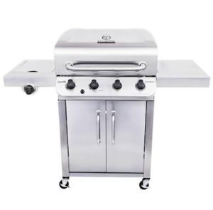 Char-Broil 4 burner bbq gas grill w/ side burner for Sale in Chino Hills, CA