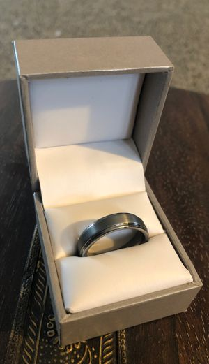 Tungsten Carbide Wedding Ring - Size 10 for Sale in Columbus, OH