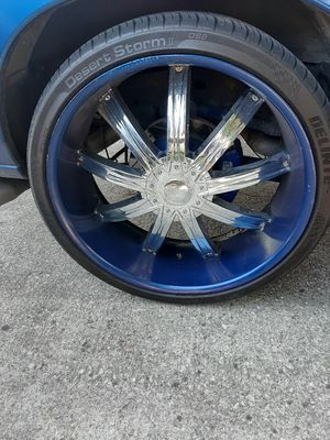 26 inch rims 2 good 2 need repair for Sale in Jacksonville, FL