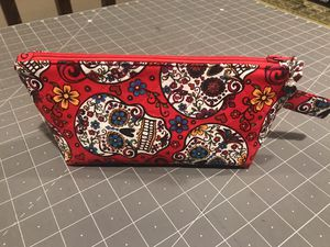 Skulls Zipper Pouch New Homemade for Sale in Las Vegas, NV