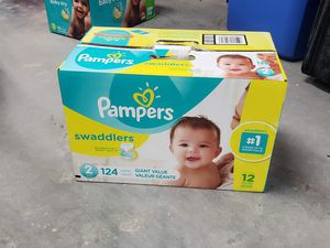 Pampers Size 2 for Sale in Everett, WA