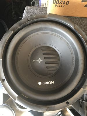 Orion xtr pro 12's for Sale in Beaumont, CA