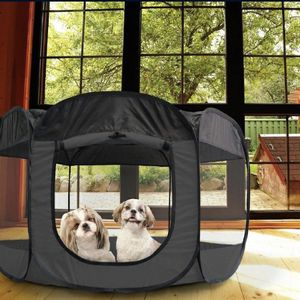 FurHaven Soft-sided Dog & Cat Playpen, Gray,(SHIPPING ONLY) for Sale in Chicago, IL