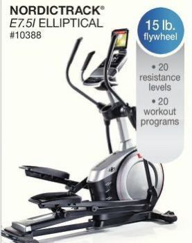 Nordictrack E7.5i elliptical for Sale in Dallas, TX
