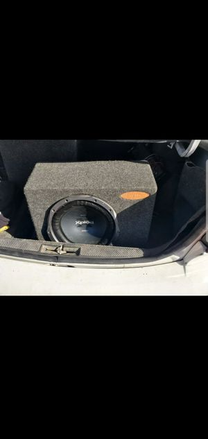 Xplod sony 12 inch sub 1200 W for Sale in Colorado Springs, CO