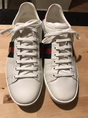 Gucci Ace Sneakers Women Size39.5 fits to 10.5 for Sale in Deltona, FL