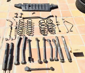 2015 Jeep Wrangler Avalanche Special Edition Full Suspension Parts and Pieces for Sale in Los Angeles, CA