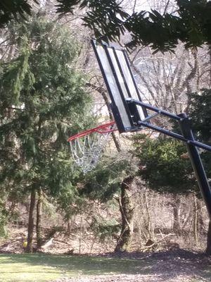 Portable huge basketball hoop for Sale in NEW KENSINGTN, PA