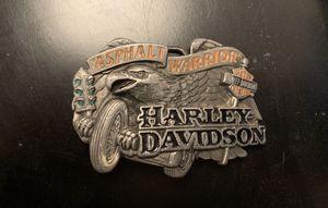 Genuine Harley Davidson belt buckle for men for Sale in Whittier, CA