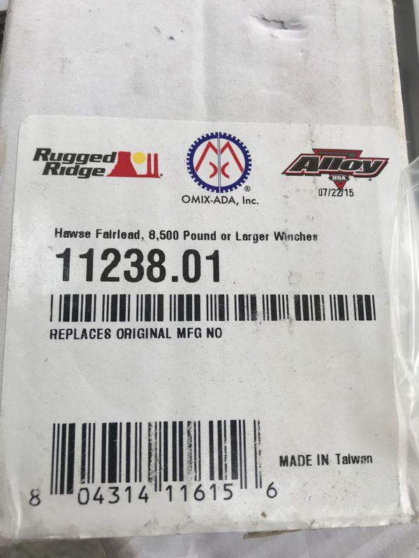 Rugged Ridge Aluminum Hawse Fairlead