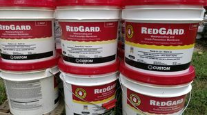 Red Guard crack isolation andwaterproofing for tile installation for Sale in Dawsonville, GA