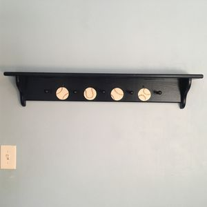Wall Shelf with Hooks for Sale in Brookline, MA