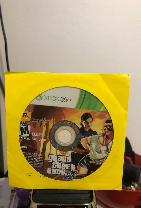 XBOX 360 good as new a Kinect for the Xbox a good GTA 5 game Hurry