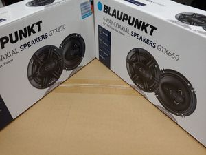Car speakers : ( 2 PAIRS ) Blaupunkt 6.5 inch 4 way 360 watts car speakers new for Sale in Bell Gardens, CA