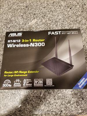 Asus 3 in 1 router for Sale in La Mesa, CA