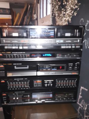 Vintage Fisher 5 piece rack system. for Sale in Florissant, MO