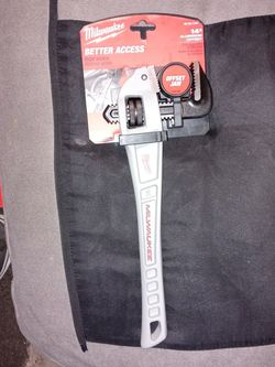 Milwaukee Pipe Wrench Made Out Of Aluminum 14 Brand New Item $66 Mark Bell Also Up For $40 for Sale in Westminster,  CA