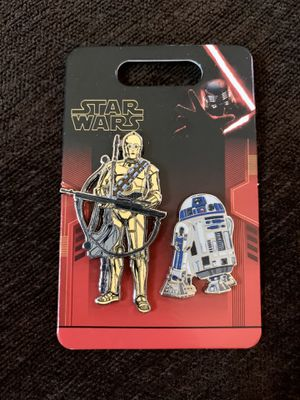 R2d2 and c3po Star Wars pins for Sale in Los Angeles, CA