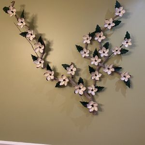 Flowers Made Of Shells On Real Wood Branch for Sale in Langhorne, PA