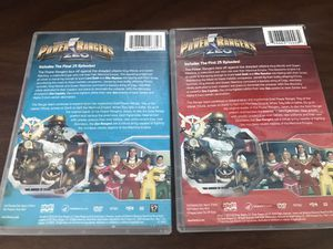 power ranger zeo volume one & 2 for Sale in Oakland Park, FL