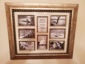 """8 - 4x6 Photo Picture Frame 25""""x21"""" for Sale in Duluth, GA"""