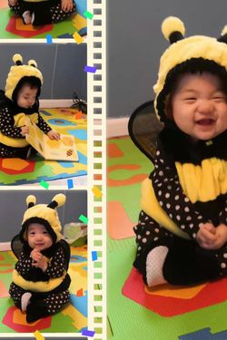 Baby Costume Bumblebee 12 Months for Sale in Franklin,  MI