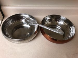 NEW! Large Salad bowls. Never used. 2 bowls/2 spoons for Sale in Pittsburgh, PA