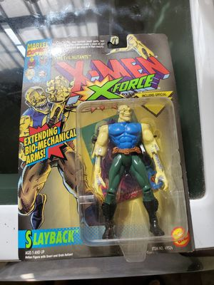 Toybiz slayback force action figure for Sale in La Mirada, CA