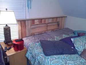 Custom head board and bed frame for Sale in Nashville, TN