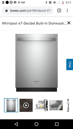 Whirlpool Dishwasher for Sale in Portsmouth, VA