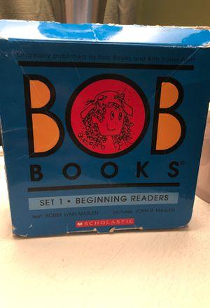 Bob books Set1, beginning readers + Hooked on Phonics (books, CD and yellow workbook) for Sale in Chesapeake, VA