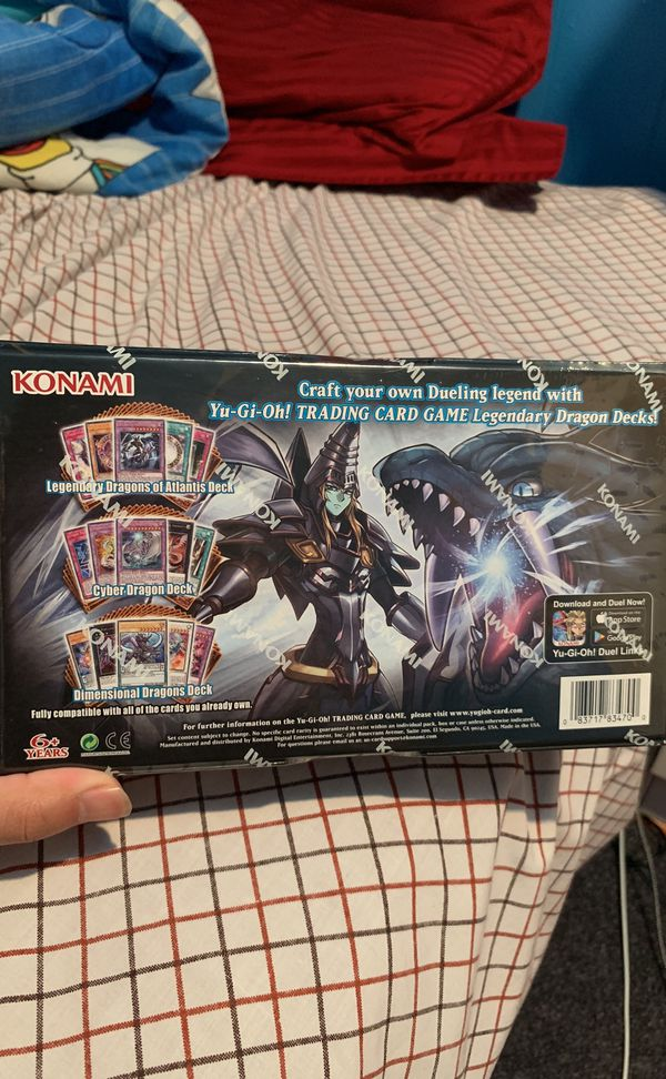 Yugioh Legendary Dragon Decks for Sale in Dundee, OR - OfferUp