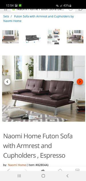 Brown sofa bed for Sale in El Cerrito, CA