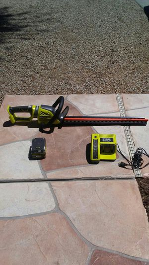 Ryobi 24v trimmer with charger and battery for Sale in Phoenix, AZ