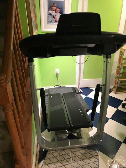 Brand New Assembled BowFlex Tread Climber TC100