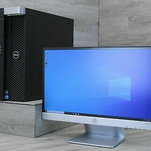 Dell Precision T5600 12-Core 2x XEON E5-2.3GHz/16Gb Ram/ 500Gb/Win10 C4 , Samsung Monitor KEYBOARD And Mouse for Sale in Los Angeles, CA