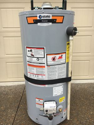 State 40 gal. Commercial gas hot water heater for Sale in Nolensville, TN
