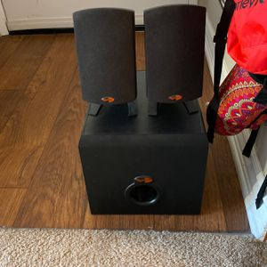 Klipsch Promedia 2.1 Speakers for Sale in Long Beach, CA
