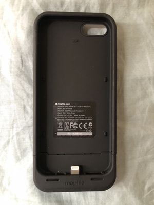 Mophie Battery Case for iPhone SE 2018/5/5s for Sale in SAN FRANCISCO, CA