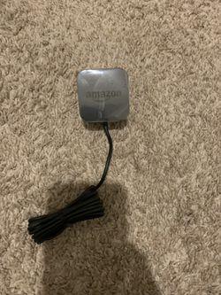 [unused] Amazon Echo Power Adapter 15W Black: Echo Dot (3rd Gen), Echo Dot with Clock, Echo Show 5, Echo Spot, Fire TV Cube for Sale in Redmond,  WA
