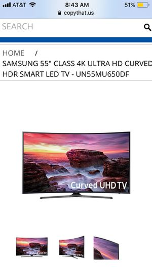 Samsung TV 55 inches for sale for Sale in Dublin, OH