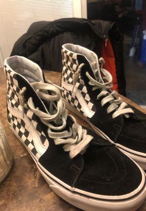 Vans checkered High Tops for Sale in Dallas, TX