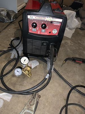 Lincoln 140 welder for Sale in Palo Alto, CA